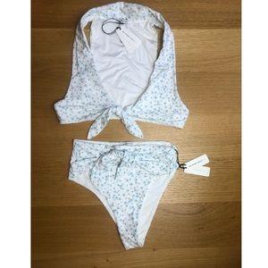 WeWoreWhat x Onia Bikini Set Babys Breath Riviera